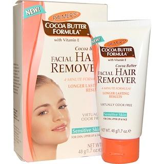Palmer's, Cocoa Butter Formula, Facial Hair Remover, 1.7 oz (48 g)