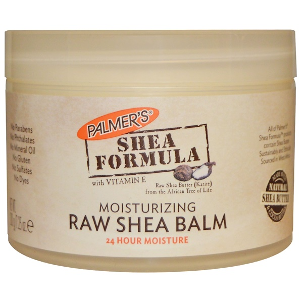 Palmer's, Shea Formula with Vitamin E, Raw Shea Balm, 7.25 oz (200 g)