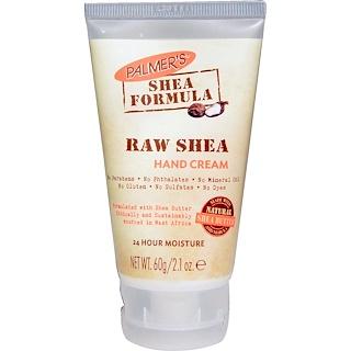 Palmer's, Shea Formula, Raw Shea Hand Cream, 2.1 oz (60 g)