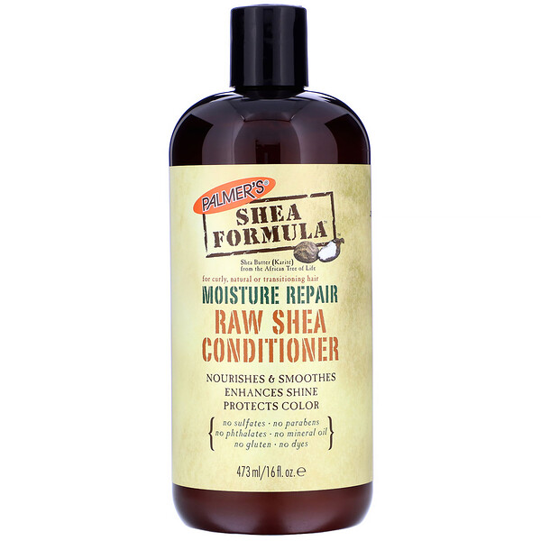 Shea Formula, Raw Shea Conditioner, Moisture Repair, 16 fl oz (473 ml)