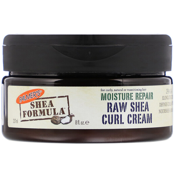 Shea Formula, Moisture Repair, Raw Shea Curl Cream, 8 fl oz (237 ml)