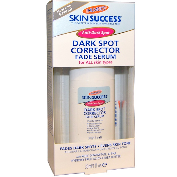 Palmer's, Skin Sucess, Dark Spot Corrector, Fade Serum, For All Skin Types, 1 fl oz (30 ml)