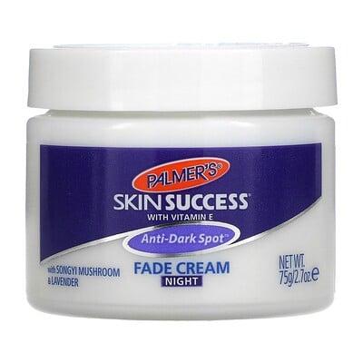 Palmer's Skin Success With Vitamin E, Anti-Dark Spot Fade Cream, Night, 2.7 oz (75 g)