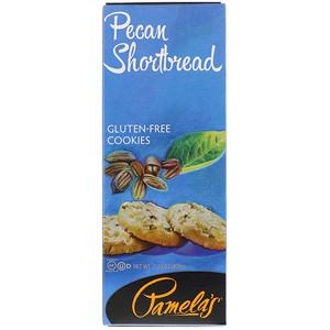Памэлас Продуктс, Gluten-Free Cookies, Pecan Shortbread, 7.25 oz (206 g) отзывы