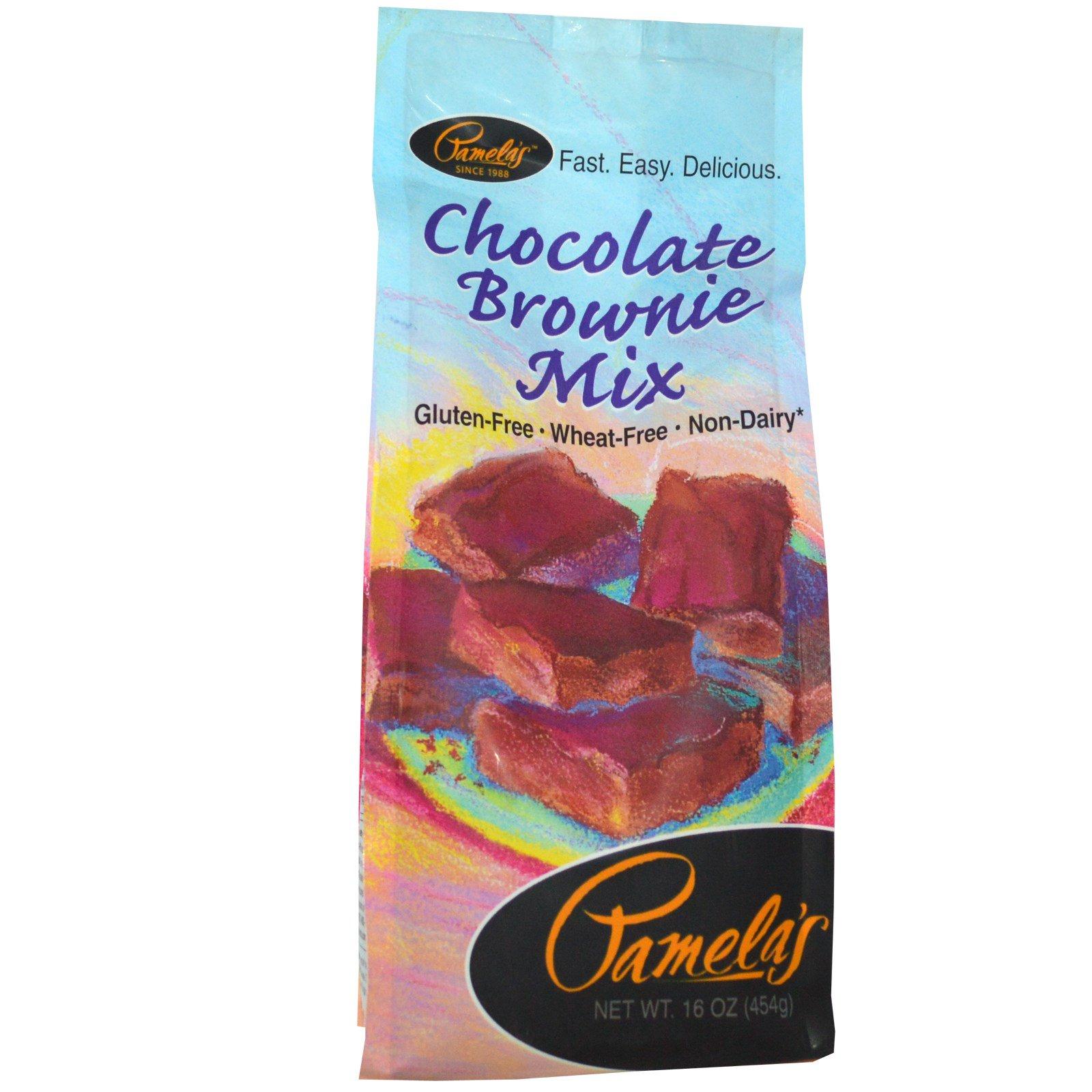 Pamela's Products, Смесь для шоколадных кексов без глютена, 16 унции (454 г)