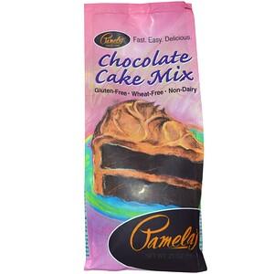 Памэлас Продуктс, Chocolate Cake Mix, 21 oz (595 g) отзывы