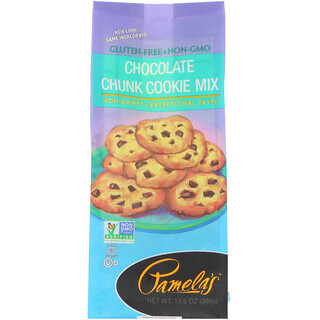 Pamela's Products, Chocolate Chunk Cookie Mix, 13.6 oz (386 g)