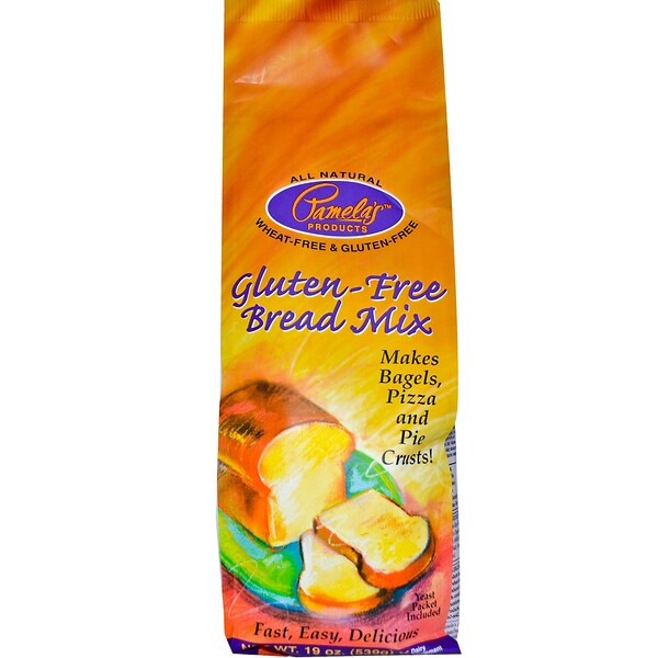 Pamela's Products, Gluten-Free Bread Mix, 19 oz (539 g) (Discontinued Item)