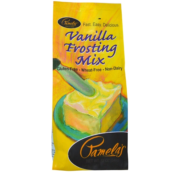 Pamela's Products, Vanilla Frosting Mix, 12 oz (340 g) (Discontinued Item)