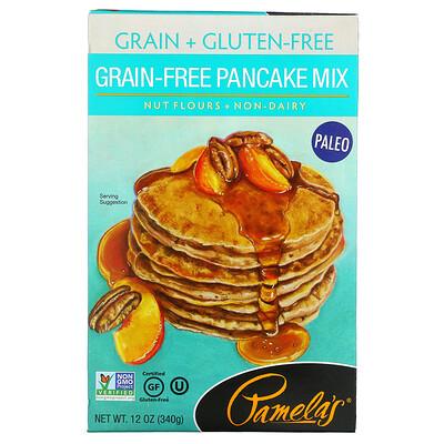 Купить Pamela's Products Grain Free Pancake Mix, 12 oz (340 g)