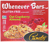 Pamela's Products, Whenever Bars, Oat Cranberry Almond, 5 Bars, 1.41 oz (40 g) Each