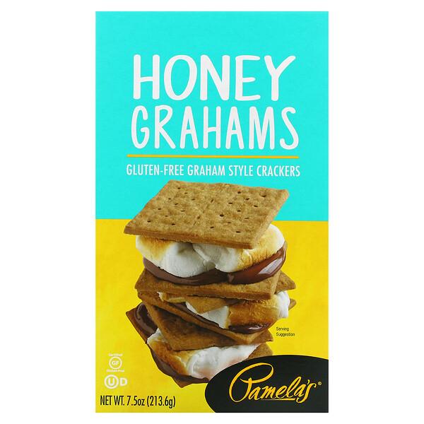 Honey Grahams, 7.5 oz (213.6 g)