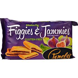 Памэлас Продуктс, Figgies & Jammies, Extra Large Cookies, Mission Fig, 9 oz (255 g) отзывы покупателей