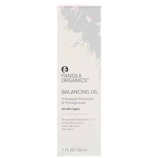 Pangea Organics, バランシングオイル、ヒマラヤンゼラニウム&ザクロ、1液量オンス (30ml)