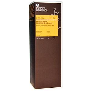 Пангеа Продуктс, Facial Toner, Argentinean Tangerine & Thyme, 4 fl oz (120 ml) отзывы