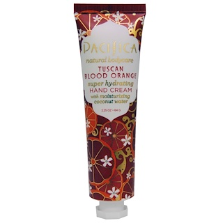 Pacifica, Hand Cream, Tuscan Blood Orange, 2.25 oz (64 g)