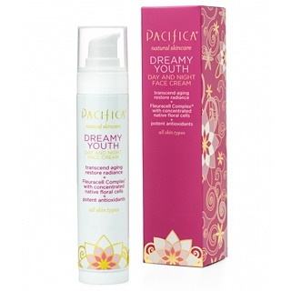 Pacifica, Natural Skincare, Dreamy Youth, Day and Night Face Cream, All Skin Types, 1.7 fl oz (50 ml)