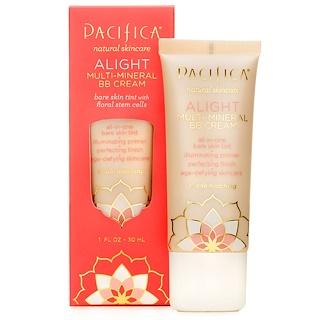Pacifica, Multi-Mineral BB Cream, Alight, 1 fl oz (30 ml)