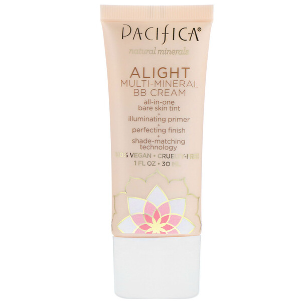 Pacifica, Alight, Multi-Mineral BB Cream, 1 fl oz (30 ml)
