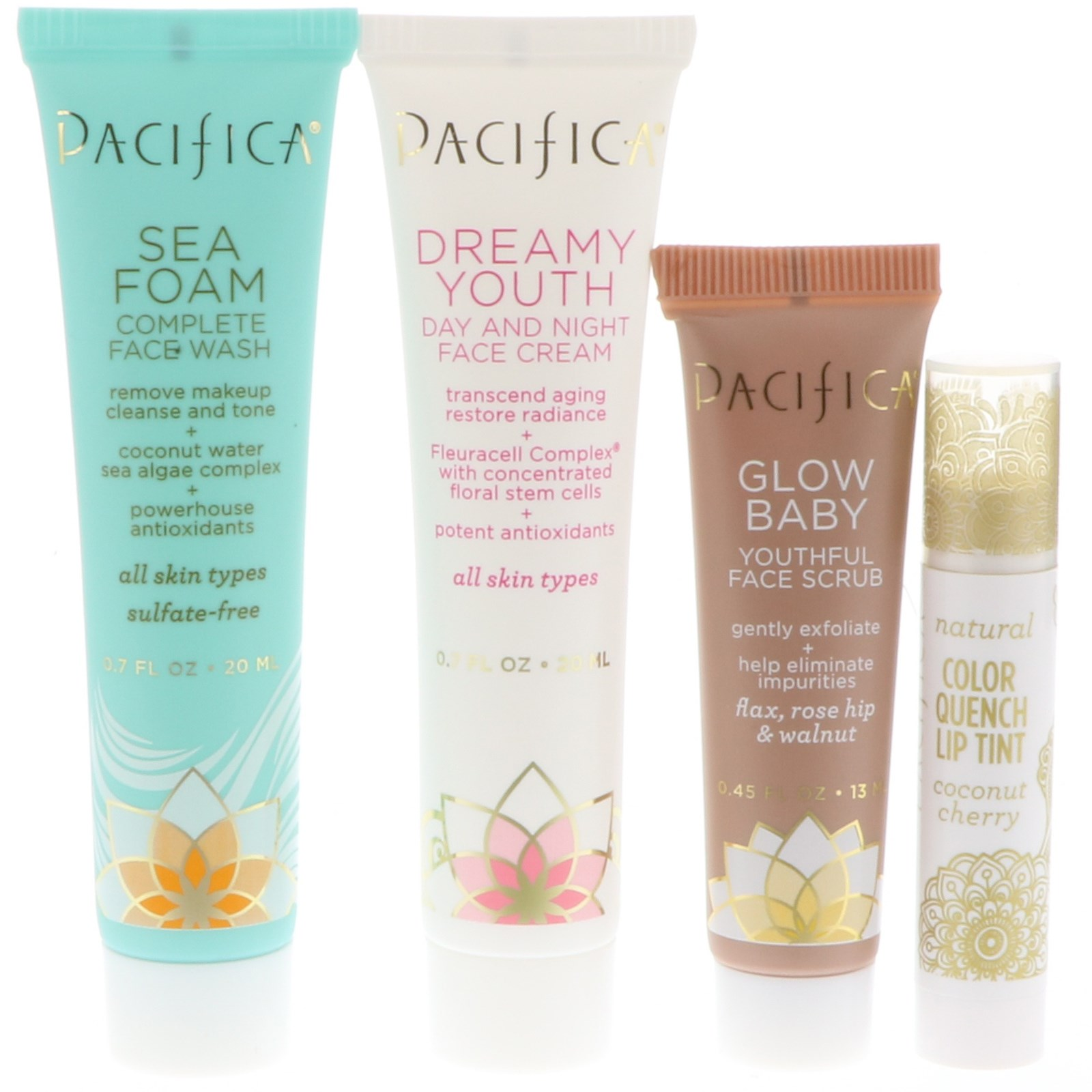 Pacifica, Your Face Just Got Lucky Set, 4 Pieces