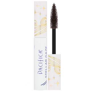 Pacifica, Stellar Gaze, Length & Strength, Mineral Mascara, Stardust Brown, 0.3 fl oz (8.8 ml)