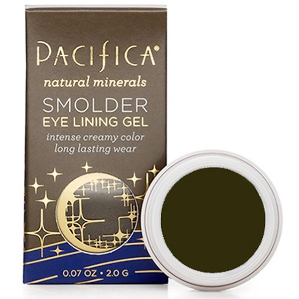 Pacifica, Smolder Eye Lining Gel, Tahitian Pearl, 0.07 oz (2.0 g) (Discontinued Item)