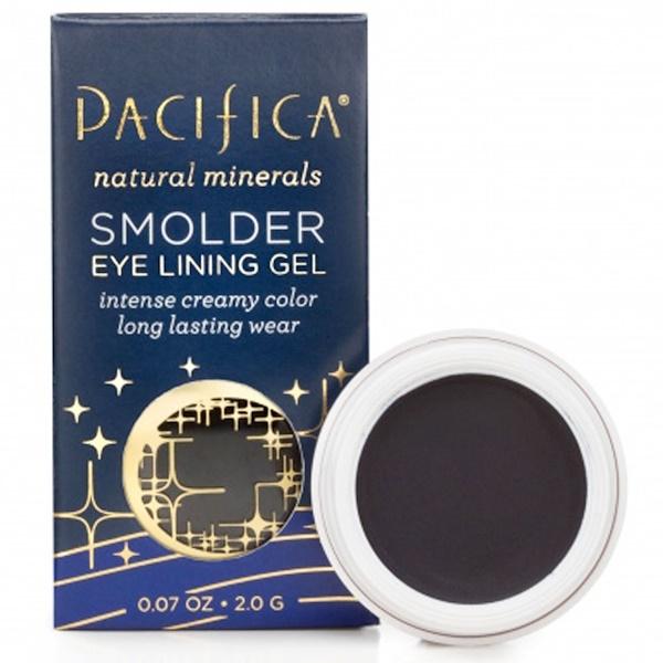 Pacifica, Smolder Eye Lining Gel, Midnight, 0.07 oz (2.0 g) (Discontinued Item)