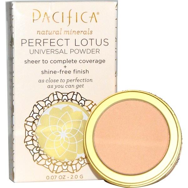 Pacifica, Perfect Lotus, Universal Powder, Natural, 0.07 oz (2.0 g) (Discontinued Item)