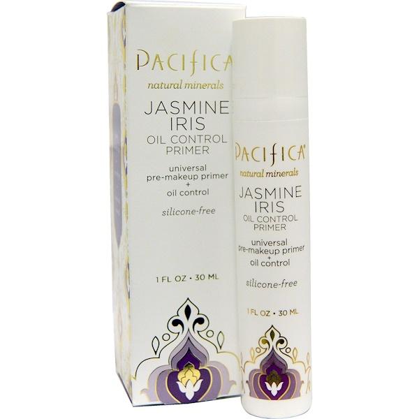 Pacifica, Oil Control Primer, Jasmine Iris, 1 fl oz (30 ml) (Discontinued Item)