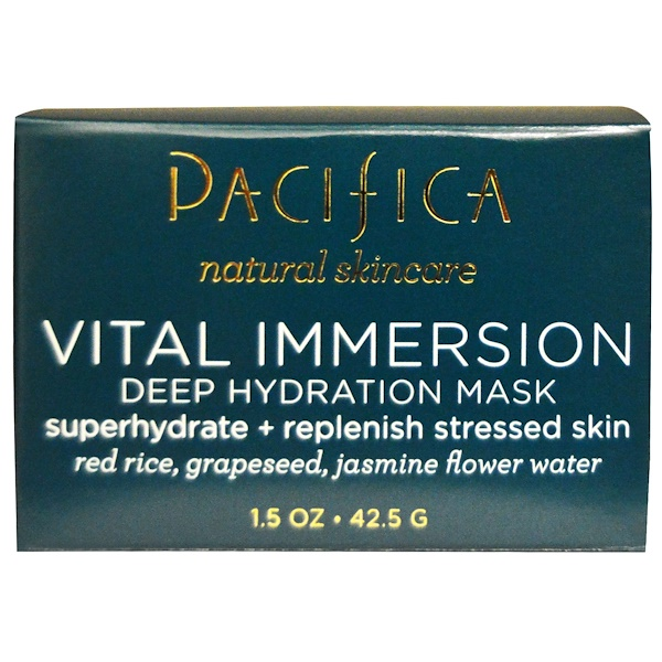Pacifica, Vital Immersion, Deep Hydration Mask, 1.5 oz (42.5 g) (Discontinued Item)