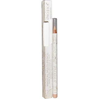 Pacifica, Magical Multi-Pencil Prime & Line Lips, Eyes & Face, Bare, 0.10 oz (2.8 g)