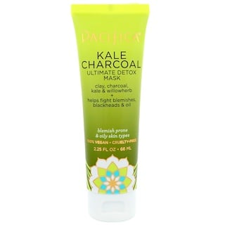 Pacifica, Kale Charcoal, Ultimate Detox Mask, 2.25 fl oz (66 ml)
