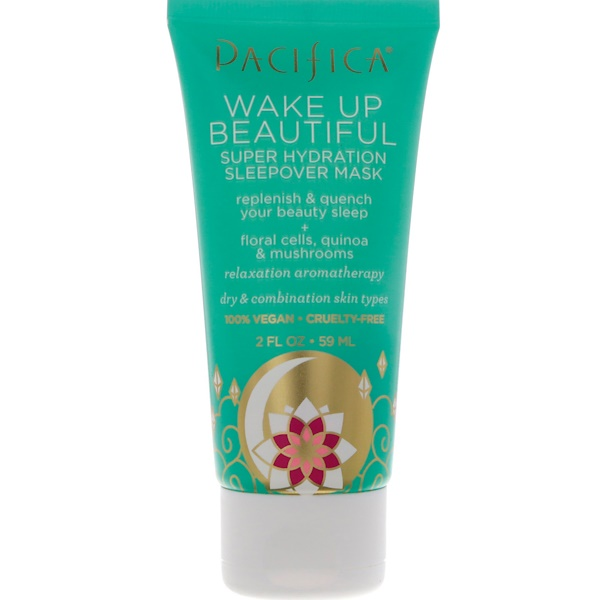 Pacifica, Wake Up Beautiful Sleep Hydration Sleepover Mask, 2 fl oz (59 ml)