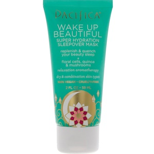 Пасифика, Wake Up Beautiful, Super Hydration Sleepover Mask, 2 fl oz (59 ml) отзывы покупателей