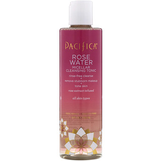 Pacifica, Rose Water, Micellar Cleansing Tonic, 8 fl oz (236 ml)