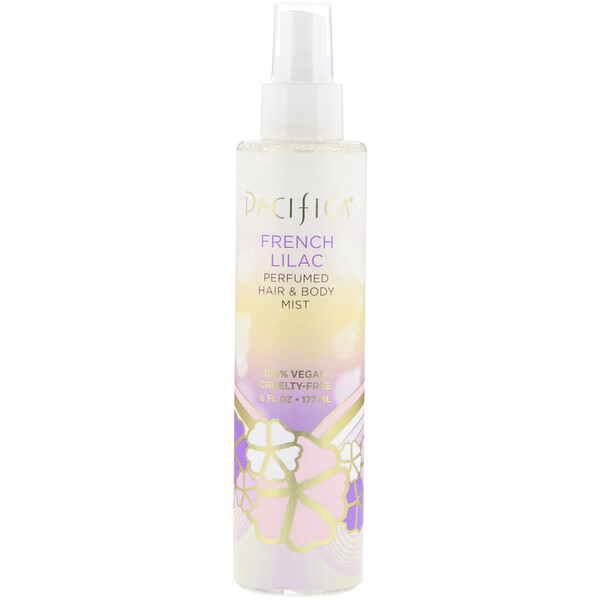 French Lilac Perfumed Hair & Body Mist, 6 fl oz (177 ml)