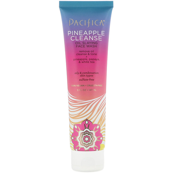 Pacifica, Pineapple Cleanse, Oil Slaying Face Wash, 5 fl oz (147 ml)