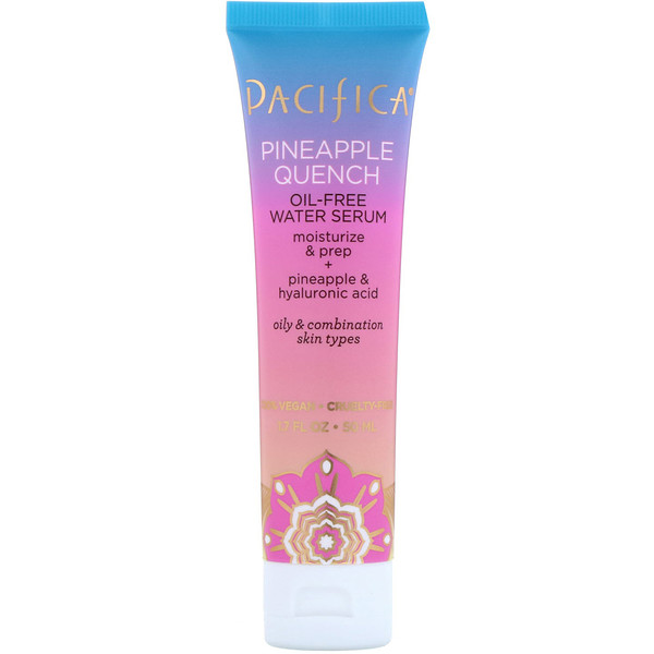 Pacifica, Pineapple Quench, Oil-Free Water Serum, 1.7 fl oz (50 ml) (Discontinued Item)