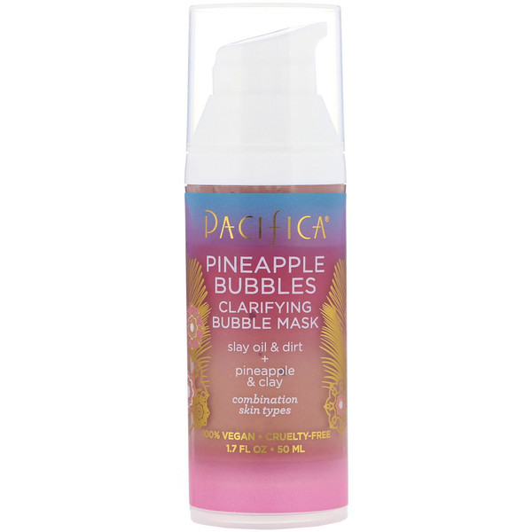 Pineapple Bubbles, Clarifying Bubble Mask, 1.7 fl oz (50 ml)