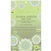 Pacifica, Super Green Detox, Kale & Charcoal Detox Facial Mask, 1 Mask, 0.67 fl oz (20 ml)