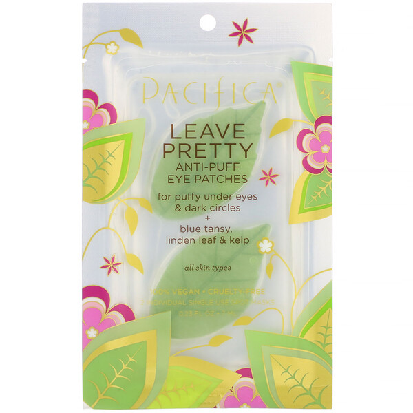 Leave Pretty, Anti-Puff Eye Patches, 1 Pair, 0.23 fl oz (7 ml)