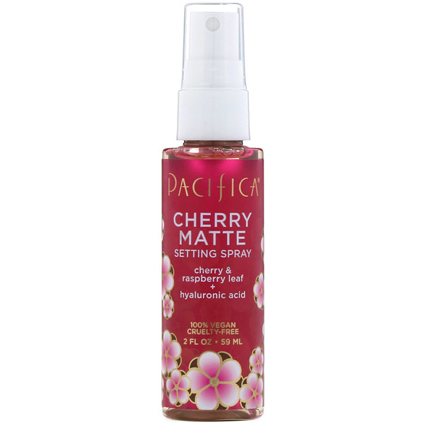 Pacifica, Cherry Matte Setting Spray, 2 fl oz (59 ml)