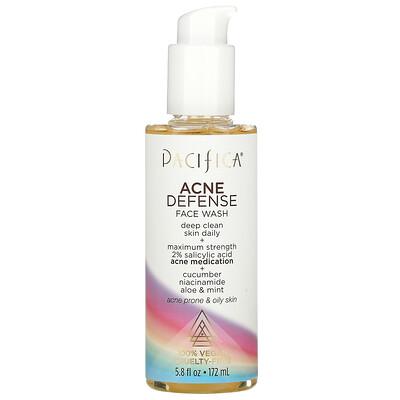 Pacifica Acne Defense Face Wash, 5.8 fl oz (172 ml)