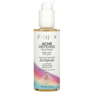 Pacifica, Acne Defense Face Wash, 5.8 fl oz (172 ml)