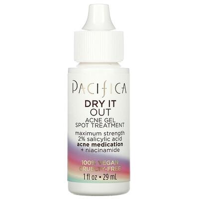 Pacifica Dry It Out, Acne Gel Spot Treatment, Maximum Strength, 1 fl oz (29 ml)