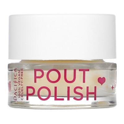 Pacifica Pout Polish Gentle Lip Scrub, 0.63 oz (18 g)