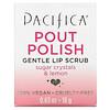 Pacifica, Pout Polish Gentle Lip Scrub, 0.63 oz (18 g)