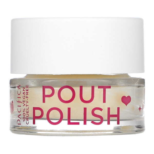 Pout Polish Gentle Lip Scrub, 0.63 oz (18 g)