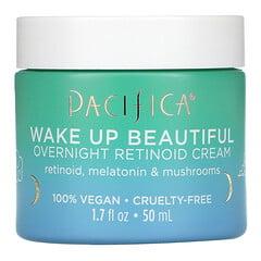 Pacifica, 喚醒美麗,類視黃醇晚霜,1.7 液量盎司(50 毫升)