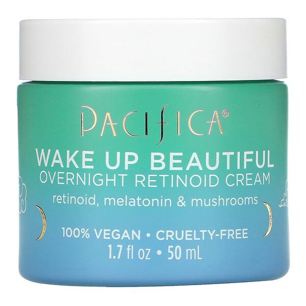 Wake Up Beautiful, Overnight Retinoid Cream, 1.7 fl oz (50 ml)